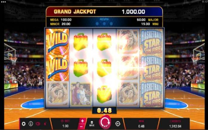 Basketball Star on Fire-online casino bonus-džokeri-dobitna kombinacija