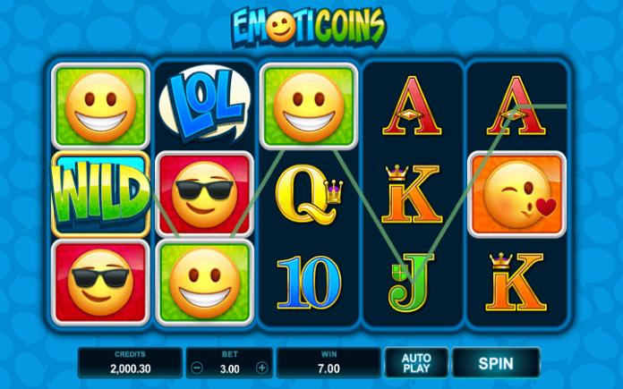 Emoticoins -  dobitak sa džokerom u slotu Emoticoins