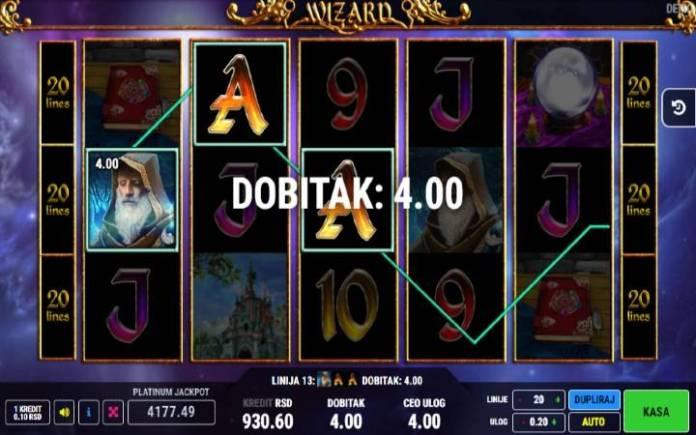 Džoker-wizard-fazi-online casino bonus