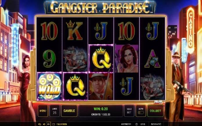 Džoker-Gangster Paradise-online casino bonus