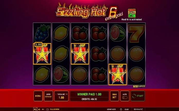 Scatter-online casino bonus-sizzling hot 6 extra gold