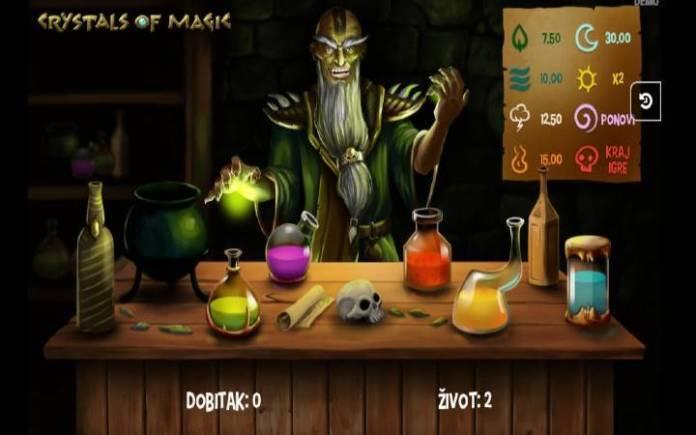 alhemičarev bonus-online casino bonus-Crystals of magic
