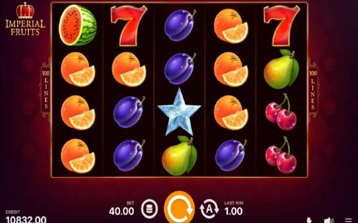 Imperial Fruits 100 Lines-online casino bonus-playson