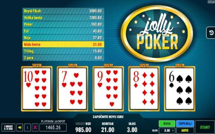 Mala kenta-jolly poker-online casino bonus