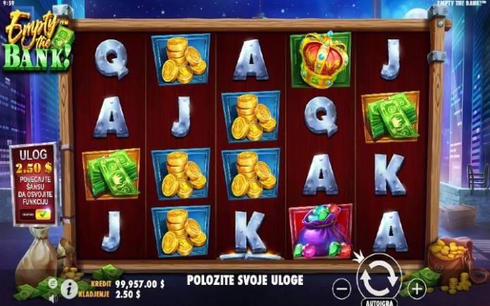 Empty the Bank, online casino bonus, pragmatic play