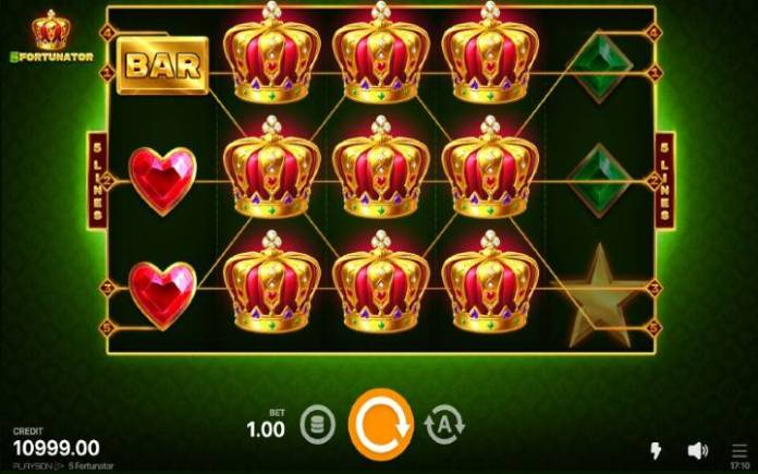 Džoker-online casino bonus-5 fortunator-playson
