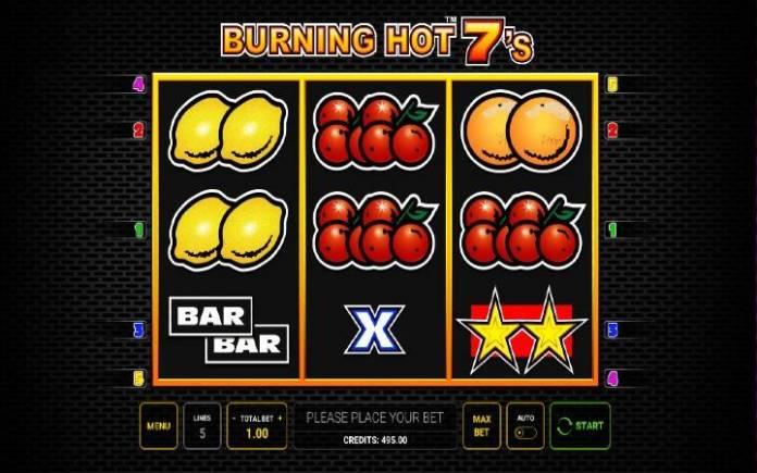 Burning Hot Sevens-online casino bonus-novomatic