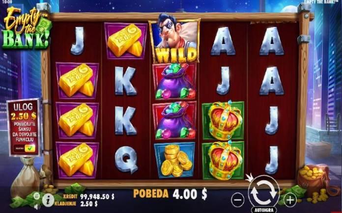 džoker-empty the bank-online casino bonus-pragmatic play