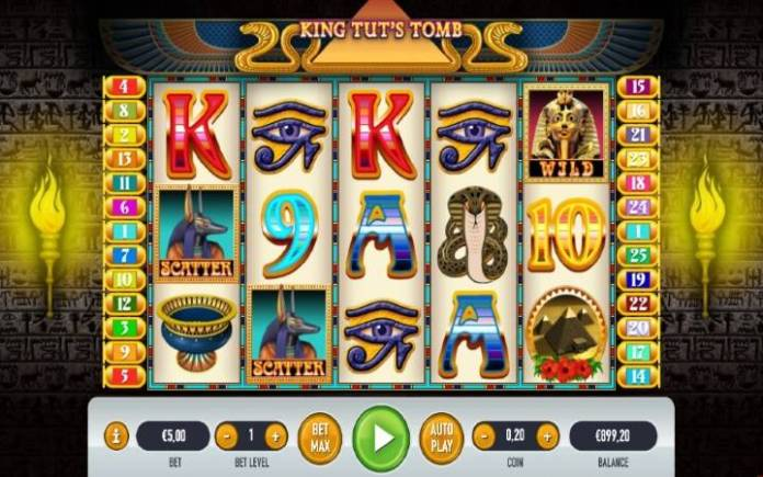 King Tuts Tomb-online casino bonus-habanero
