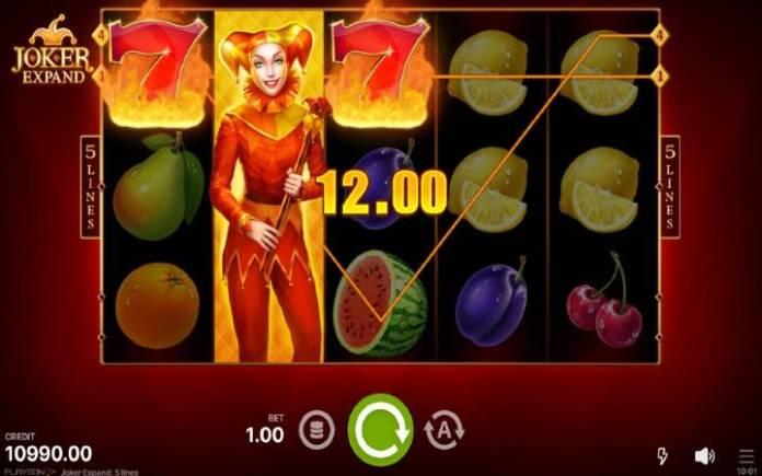 džoker-online casino bonus-joker expand 5 lines