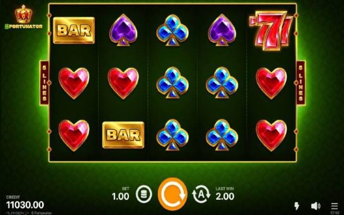5 fortunator-online casino bonus-playson