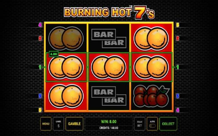 Pomorandže-online casino bonus-novomatic-burning hot sevens