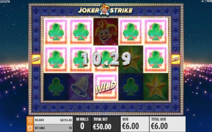 Joker Strike-online casino bonus-Quickspin