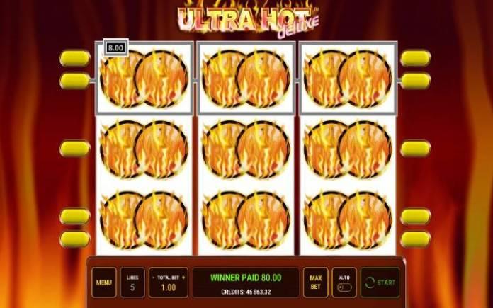 Bonusvoćkice-ultra hot deluxe-online casino bonus