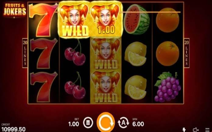 Džoker-online casino bonus-fruits and jokers 20 lines