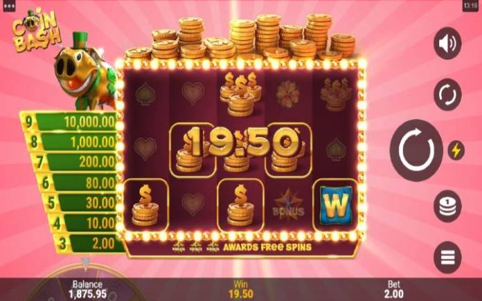 Džoker-coin bash-online casino bonus-microgaming