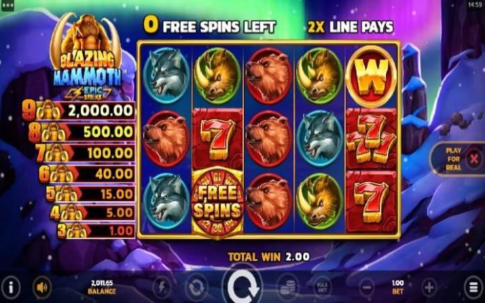 Besplatni spinovi-online casino bonus-blazing mammoth