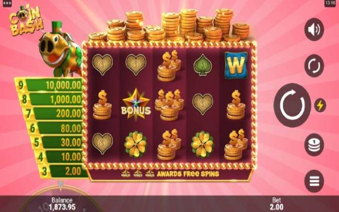 Coin Bash-online casino bonus-osnovna igra-microgaming