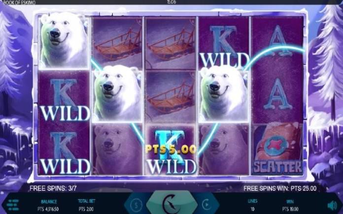 Besplatni spinovi-online casino bonus-book of eskimo