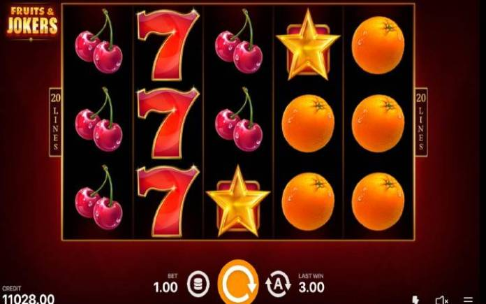 scatter-zlatna zvezda-fruits and jokers 20 lines