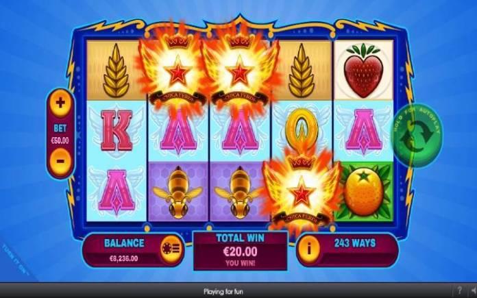 Scatter-online casino bonus-turn it on