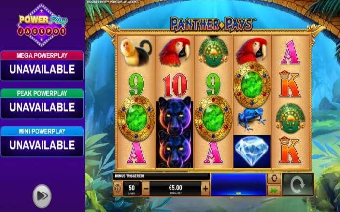 Scatter-online casino bonus-power play panther pays-playtech