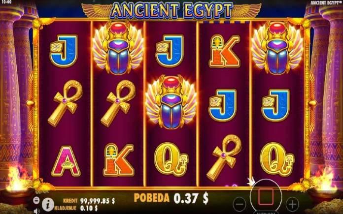 Džoker-scatter-bonus igra-ancient egypt
