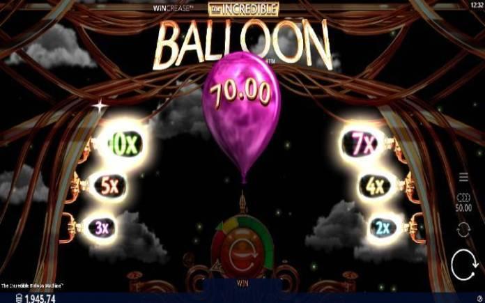 bonus igra-the incredible balloon machine-online casino bonus
