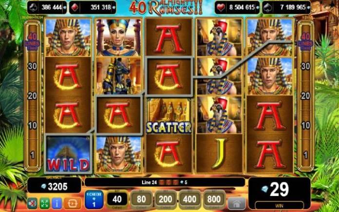 Džoker-online casino bonus-40 almighty ramses 2-egt