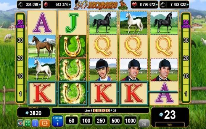 Džoker-online casino bonus-50 horses-egt