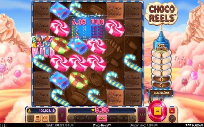 džoker-online casino bonus-choco reels