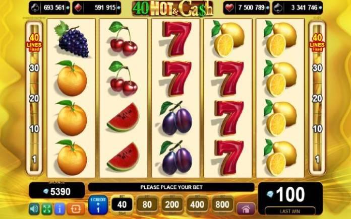 40 Hot and Cash-online casino bonus-egt