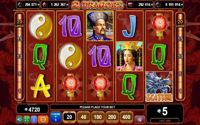 2 dragons-online casino bonus-egt