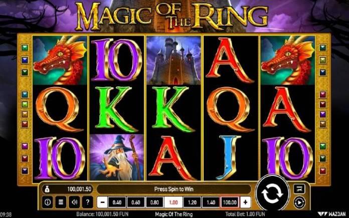 Magic of the ring-online casino bonus-wazdan