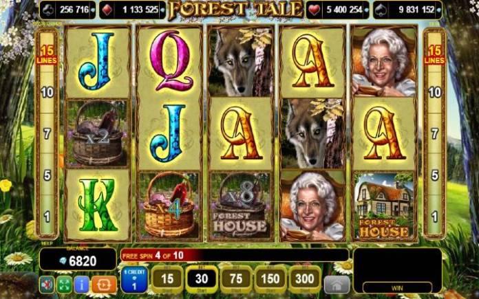 Scatter-online casino bonus-forest tale