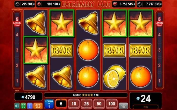 Scatter-online casino bonus-extremely hot-egt