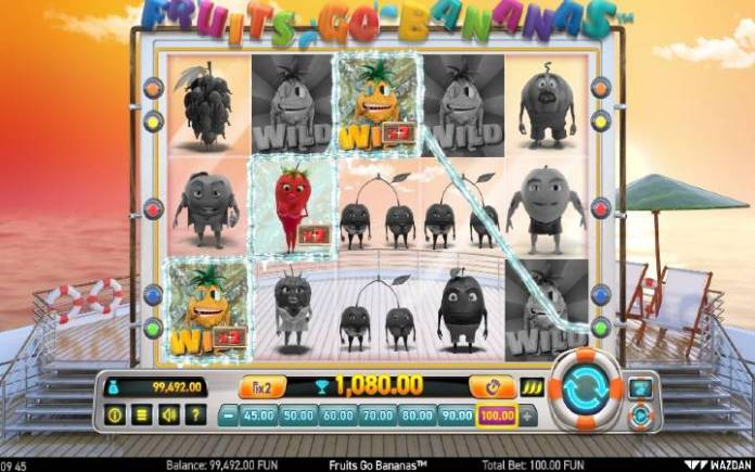 Džoker-fruits Go bananas-online casino bonus