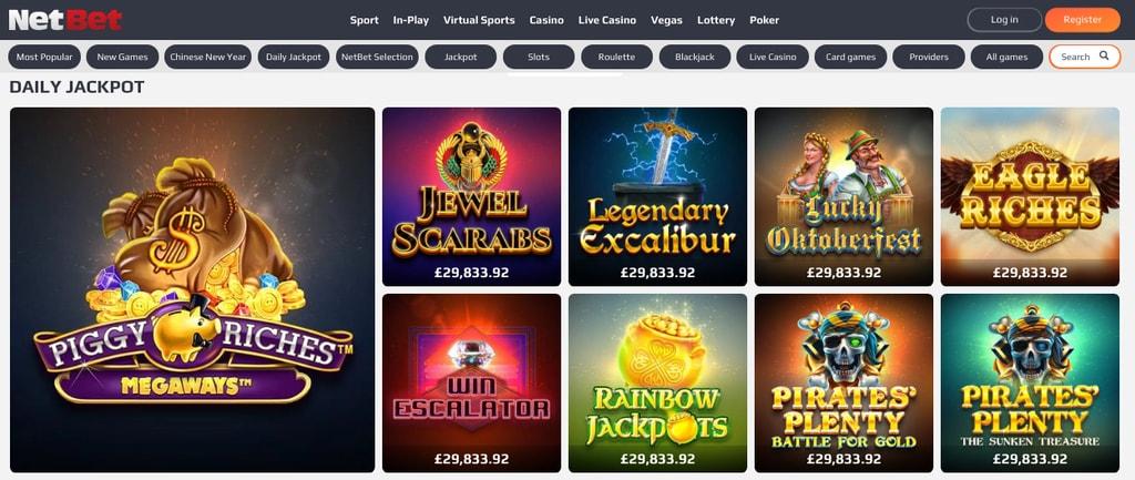 Netbet Casino Login