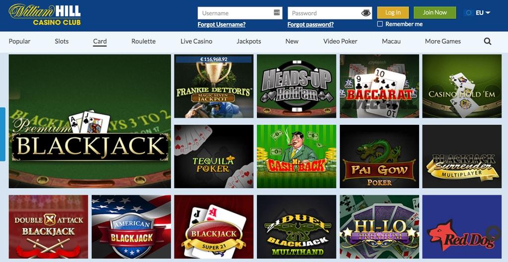 William Hill Casino Club Withdrawal Problems