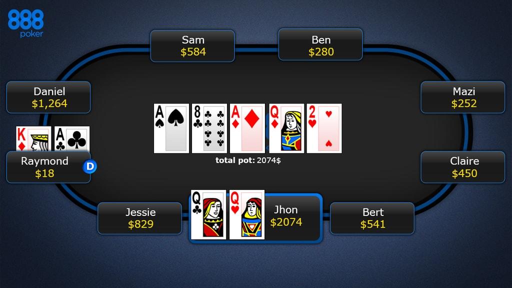 888 Poker Scam