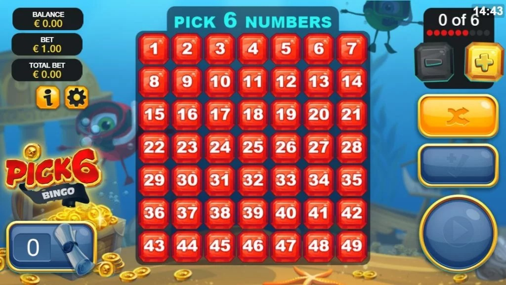Online Bingo Spel