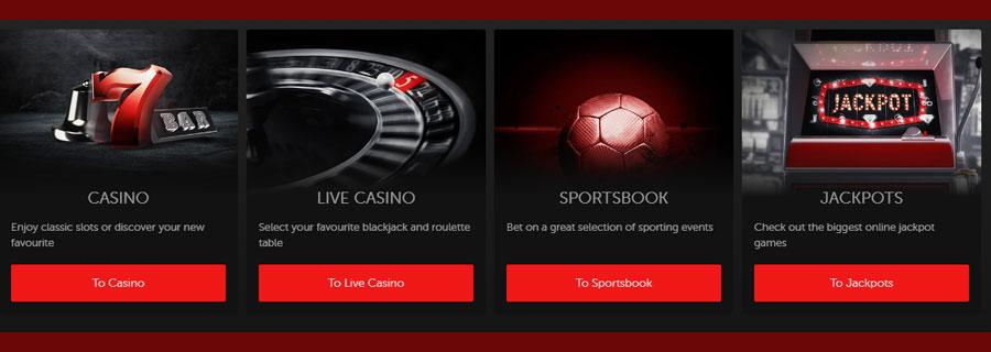 Betsafe casino spelaanbod