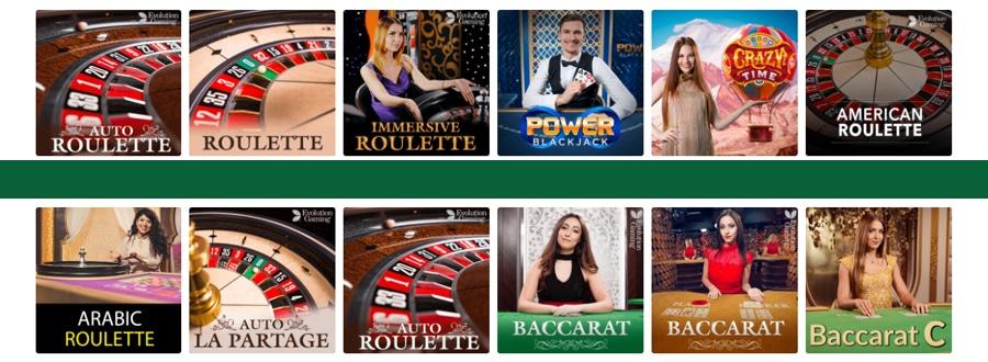 Mason Slots live casino spellen