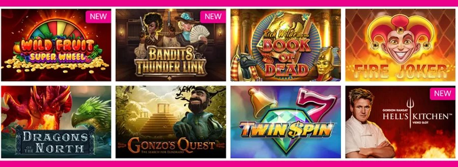 Queen Play casino gokkasten