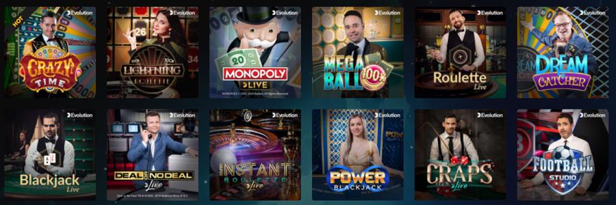 Rocket Casino live casino
