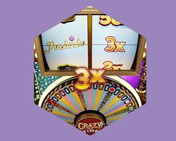 Met de Crazy time bonusronde kan je tot 160.000 maal je inzet winnen