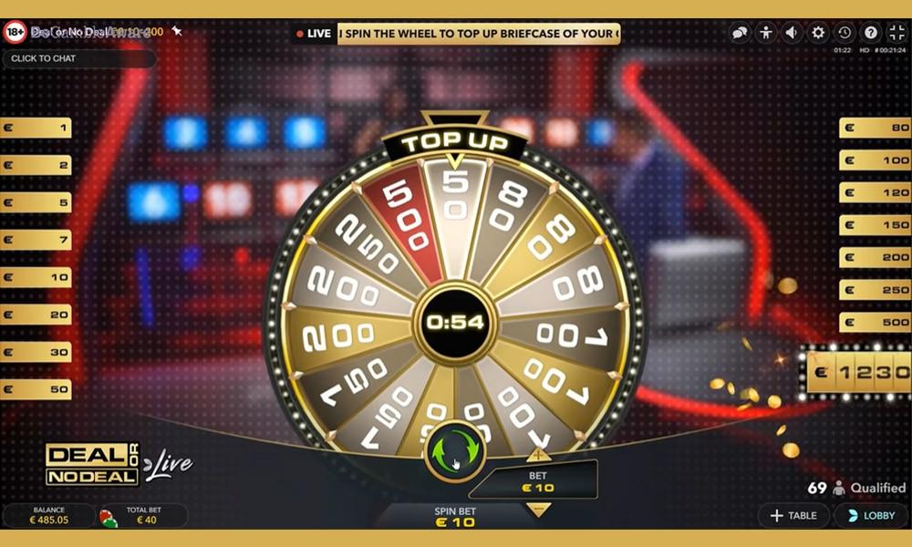 Deal or No Deal is een adembenemend spel waar je mooie prijzen kan winnen