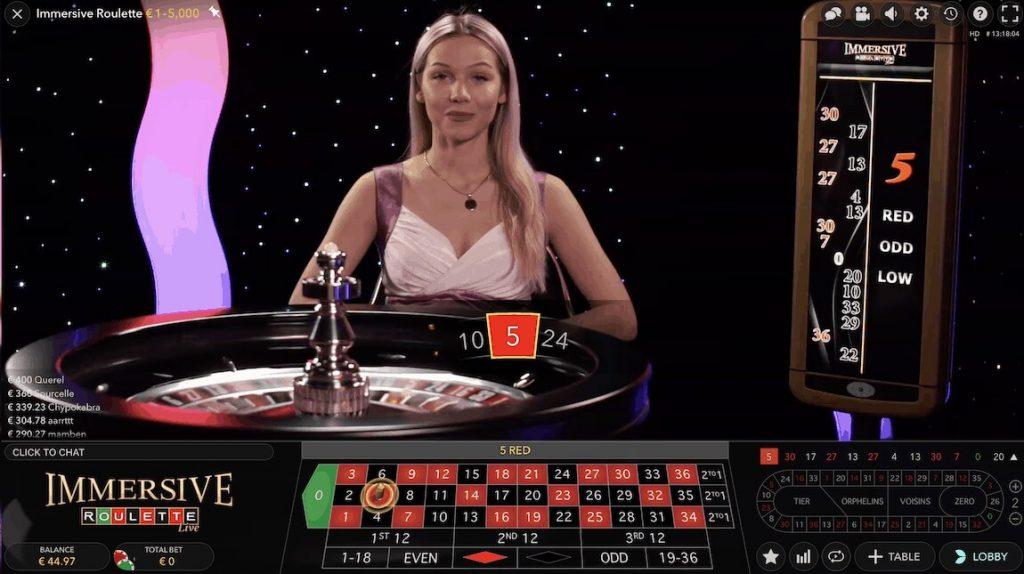 live spelen in nieuwe online casino
