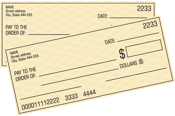 Save Your Check Printing Costs
