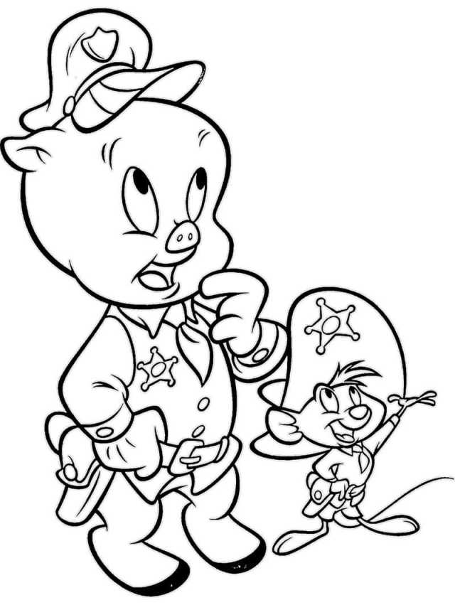 Looney Tunes Coloring Pages – homeicon.info